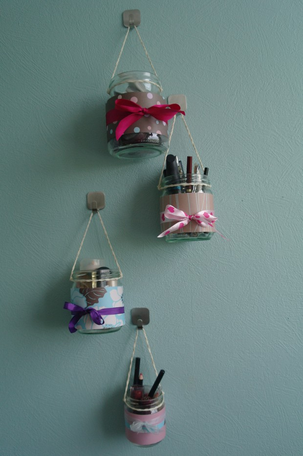 hanging jar storage