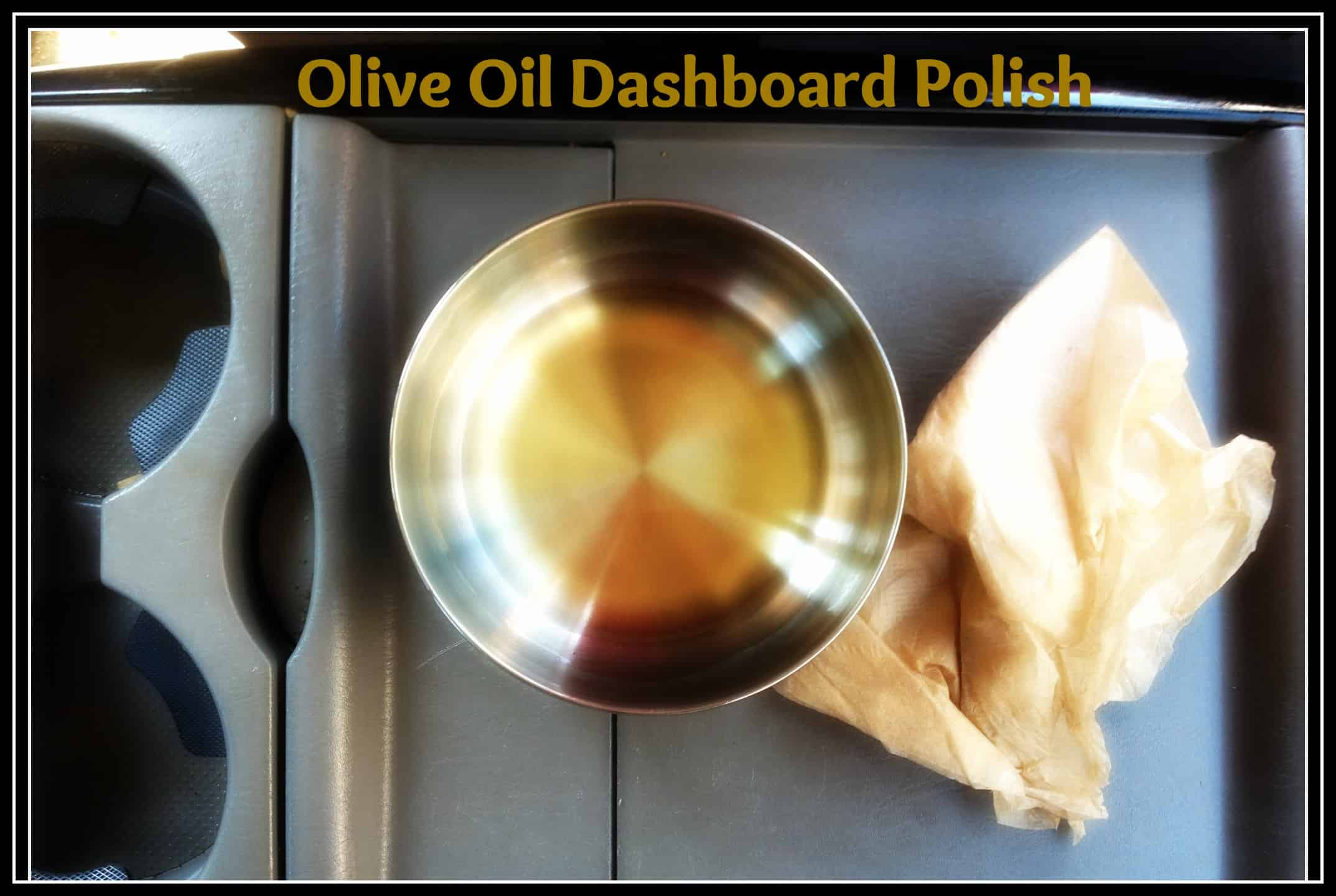olive oil clean dashboard