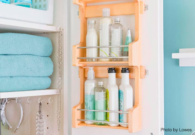 spice rack for bathroom