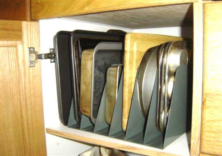 cookie sheet storage