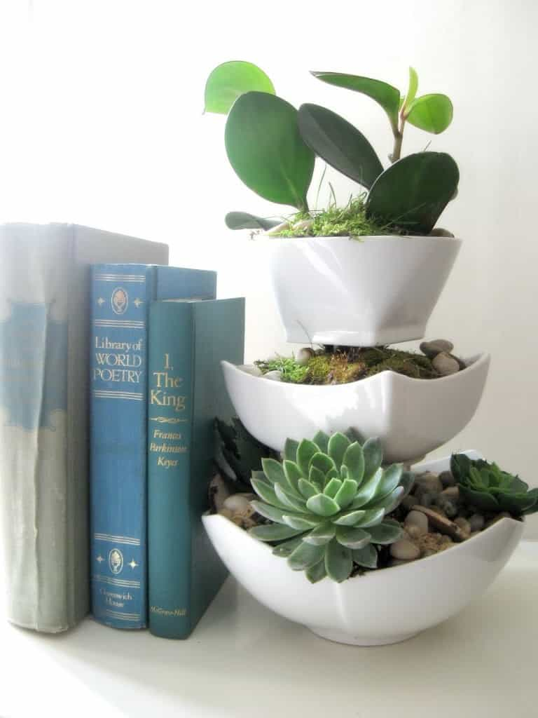 Succulent Planter home decor #HomeDecor