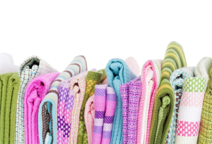 speed cleaning tips - have the right supplies like microfiber towels