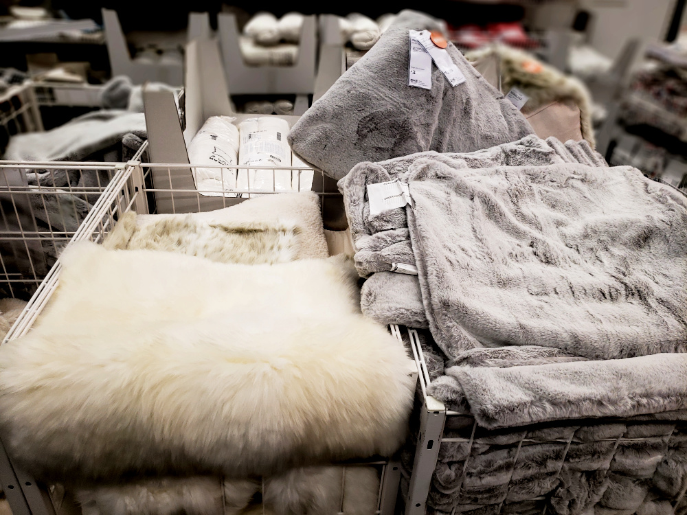 ikea soft pillow covers
