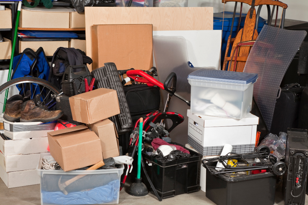 Decluttering Tips - Don't keep a pile of junk in your house. Donate or get rid of it by some other means.