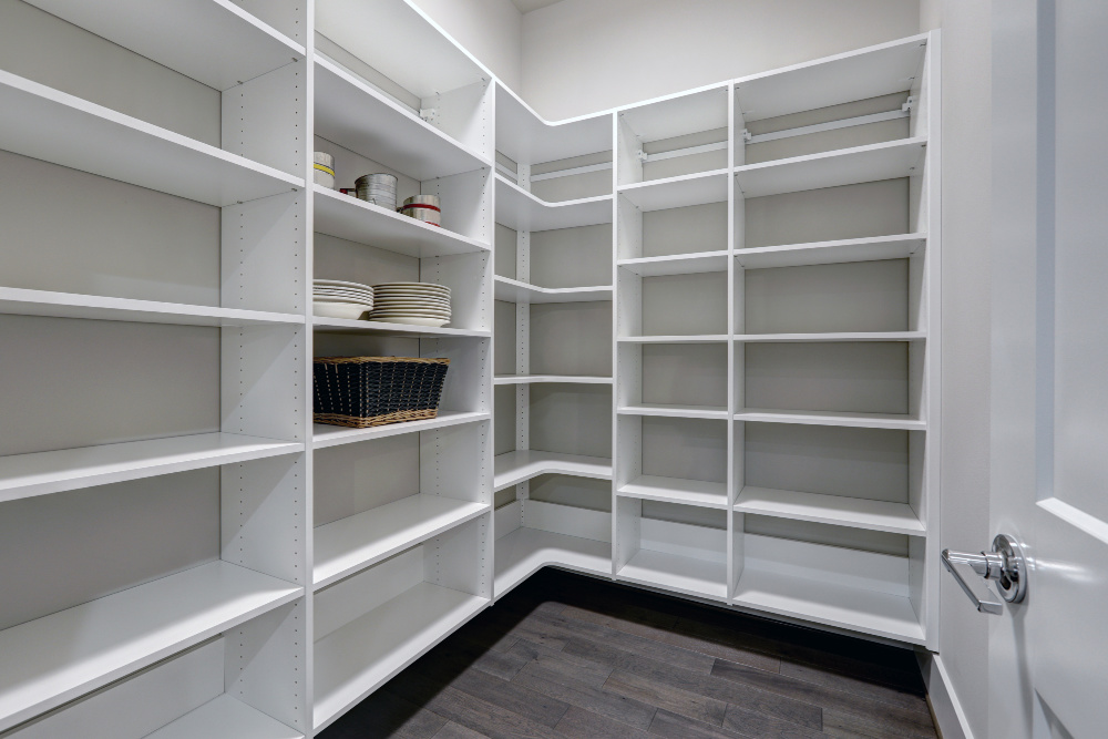 Organized Pantry - Declutter first!