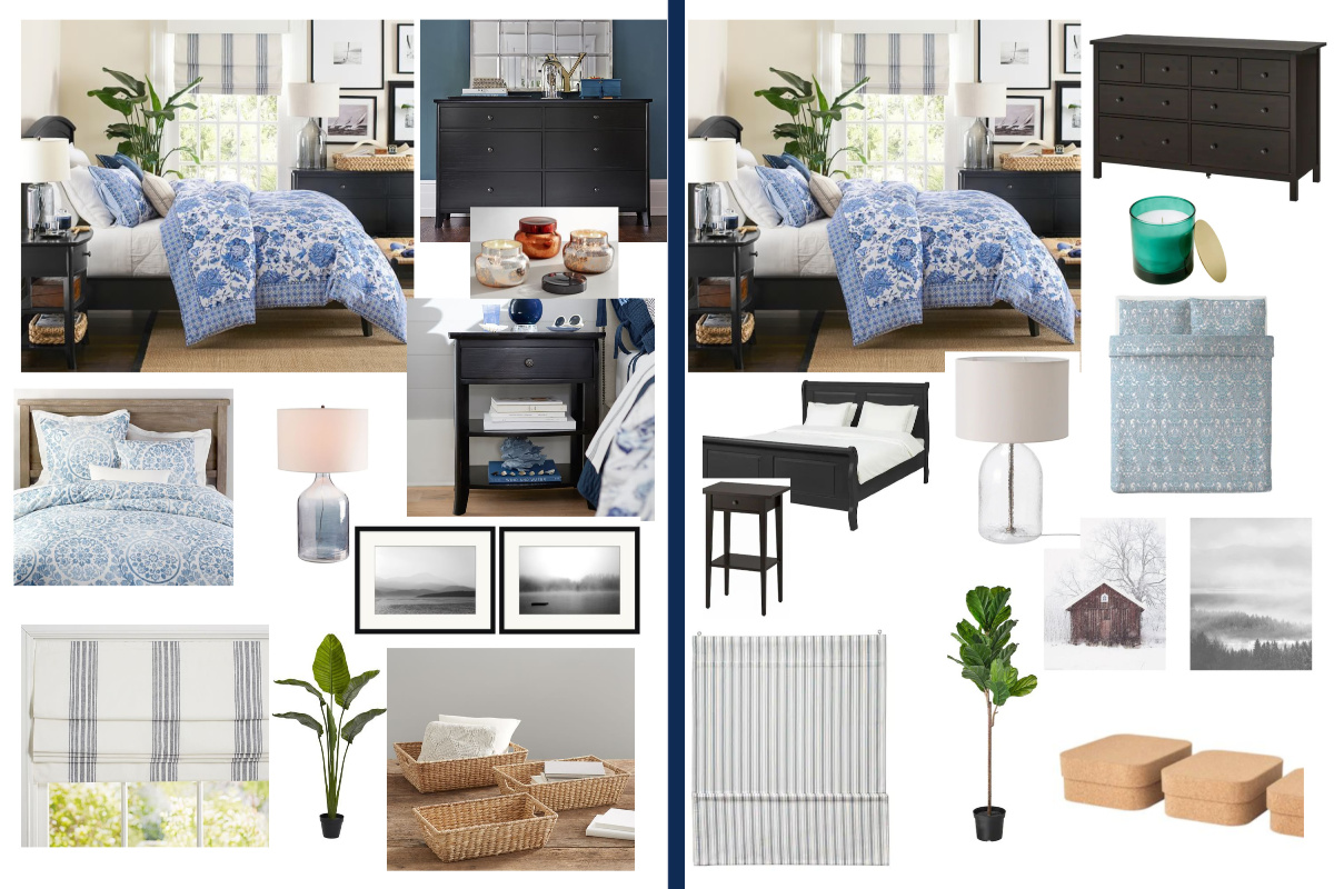 Picture of: Pottery Barn Look Alike Bedroom At Budget Friendly Ikea Prices