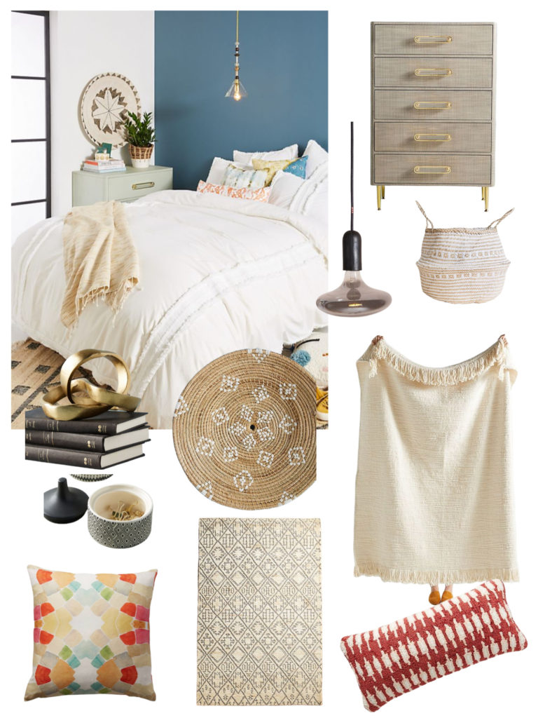 Anthropologie Boho Bedroom