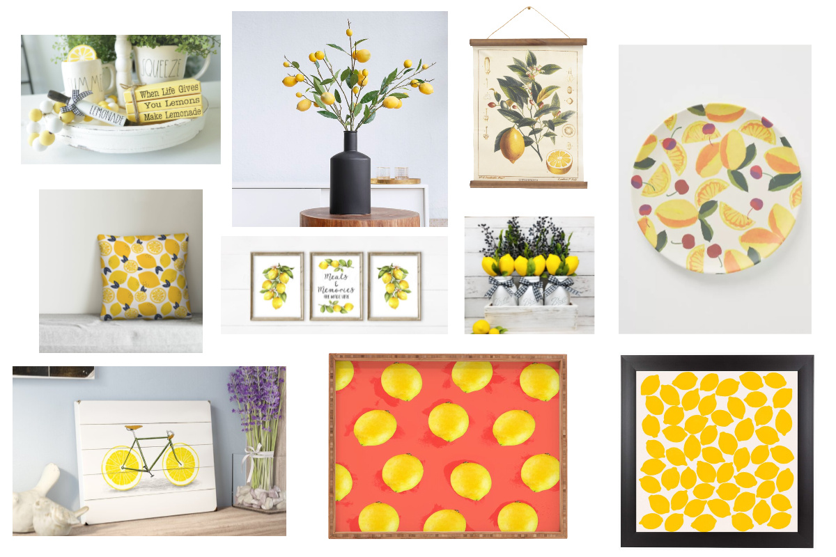 lemon decor feature