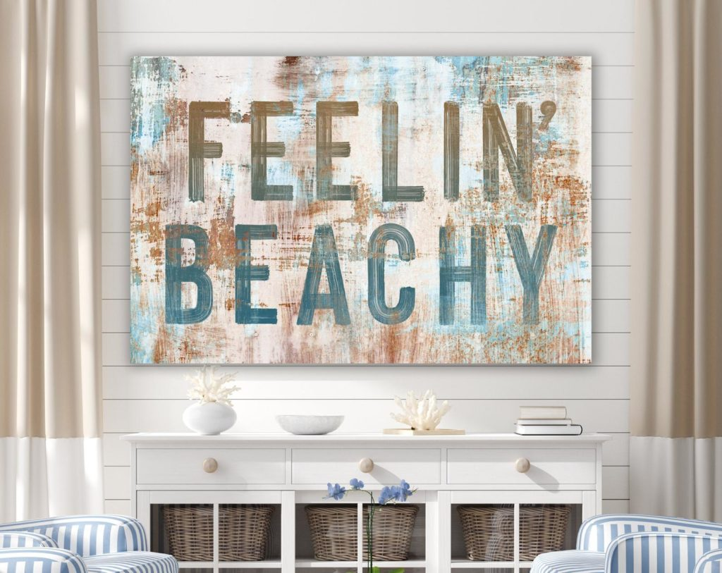 Feelin Beach Rustic Wall Decor for summer