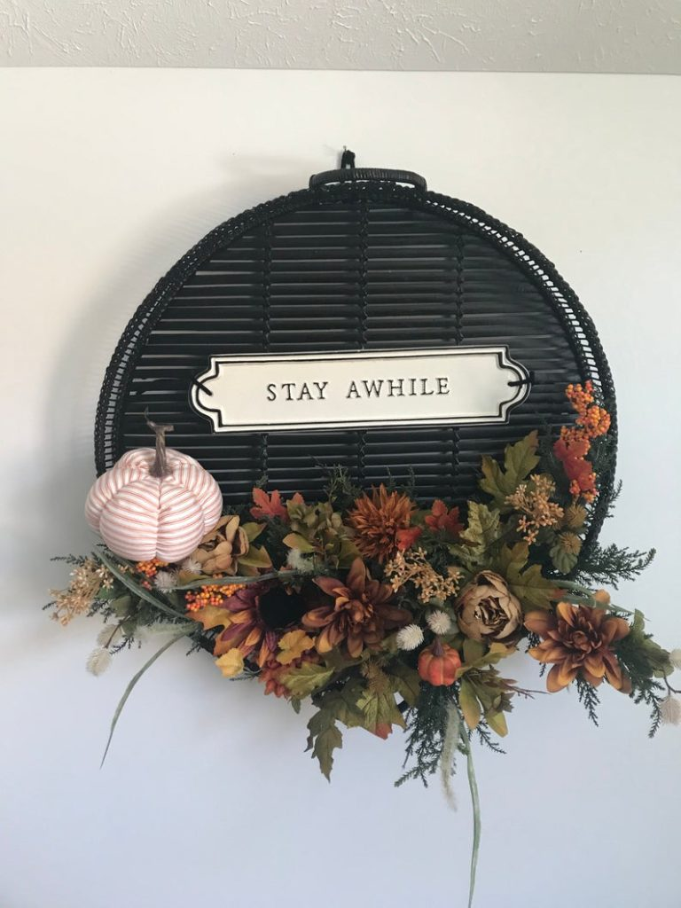 Unique autumn wreath ideas