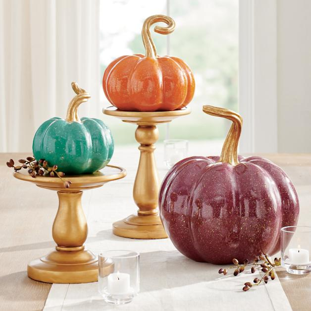 Lacquer pumpkins you won't be able to stop looking at.