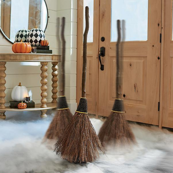ANimated brooms for Halloween